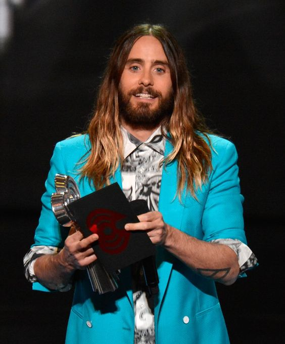 Pin for Later: Ladies und Gentlemen, Jared Leto ist immer noch ein Rock-Star
