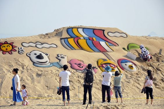 Haeundae Sand Festival, Busan, South Korea