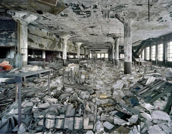 by Yves Marchand and Romain Meffre - Detroit Public Schools Book Depository