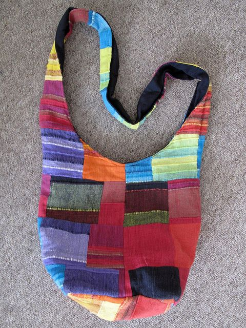 Patchwork Bag. by Phizzychick!, via Flickr