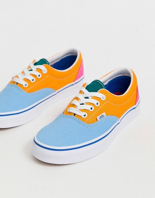 Vans Era color block sneakers | ASOS | Sneakers fashion ...