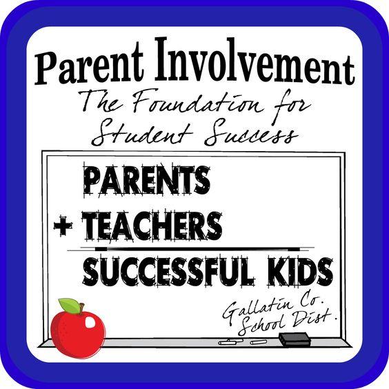 parent involvement in schools - Google Search