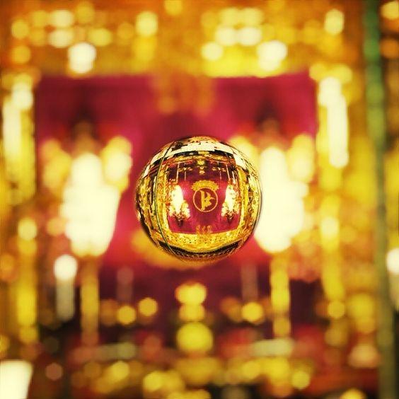 Golden air of Senso-ji Temple