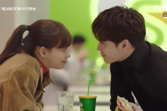 """Watch: Lee Na Young And Lee Jong Suk Get Hearts Racing With """"Romance Is A Bonus Book"""" Highlight Video"""