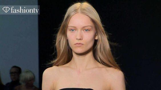 Model Katya Riabinkina for Fall/Winter 2013-14   FashionTV