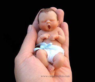 amazing marzapan baby