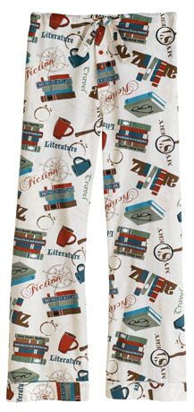 BOOK LOVER'S LOUNGE PANTS #want