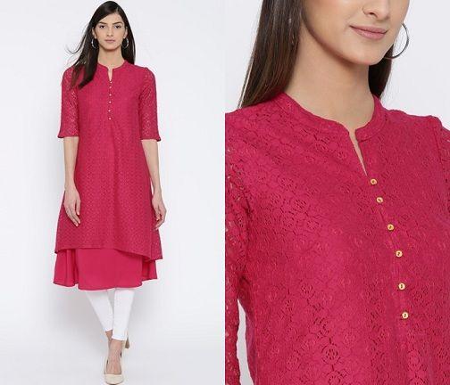 Kurti Neck Designs 25 Trending And Stylish Collection In 2020 Kurti Neck Designs Dress Neck Designs Stylish Kurtis Design
