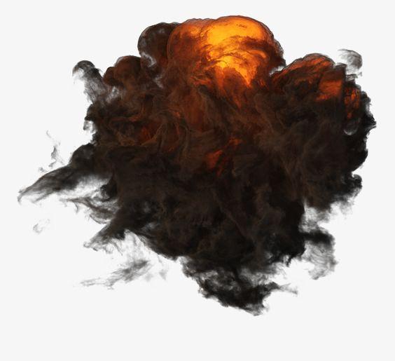 Black Smoke Png Free Download Black Smoke Explosion Fire Art