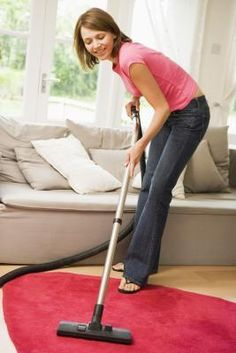 Carpet and rugs absorb smells such as cigarette smoke, cooking odors and pet odors. Supermarkets and pharmacies sell rug deodorizers to sprinkle on carpets before you vacuum, but if you want to save ...
