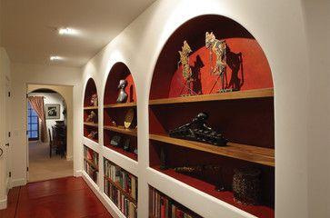 Wall niches Hallways and Decor on Pinterest