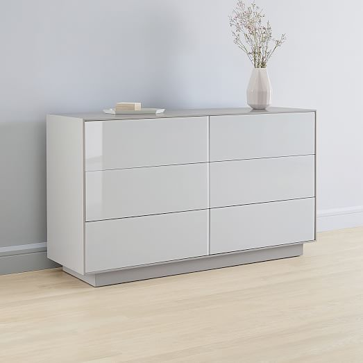 Emilia 6 Drawer Dresser Haze In 2020 6 Drawer Dresser Dresser Drawers Drawers