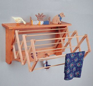 Pinterest the world s catalog of ideas for Wooden clothes drying rack plans