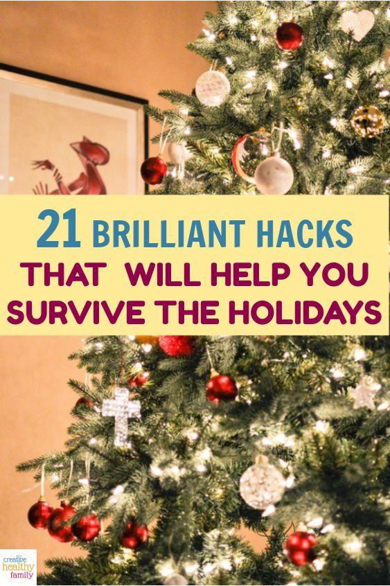 21 Genius Hacks To Help You Survive The Holidays Holiday Spending Holiday Christmas Literacy Activities