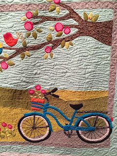 BICYCLE QUILT.............PC: