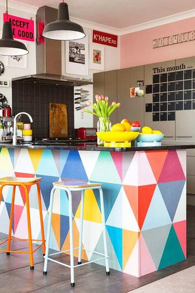 Perfect Colorful Kitchens