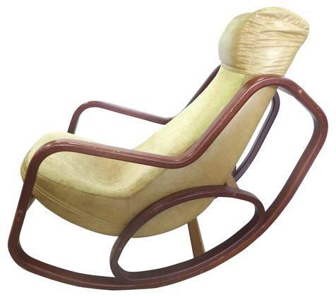 Mid-Century Modern Lounge Rocker on Chairish.com