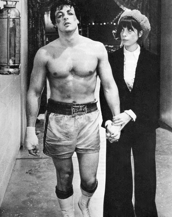 """Sylvester Stallone as """"Rocky"""" Balboa:  I love all the """"Rocky"""" films.  All 7 tell an incredible story of love, loss and triumph."""