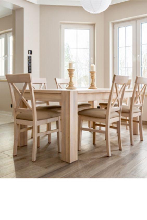 Geweisste Polsterstuhle Stuhle Stuhl Polstern Eiche Holz
