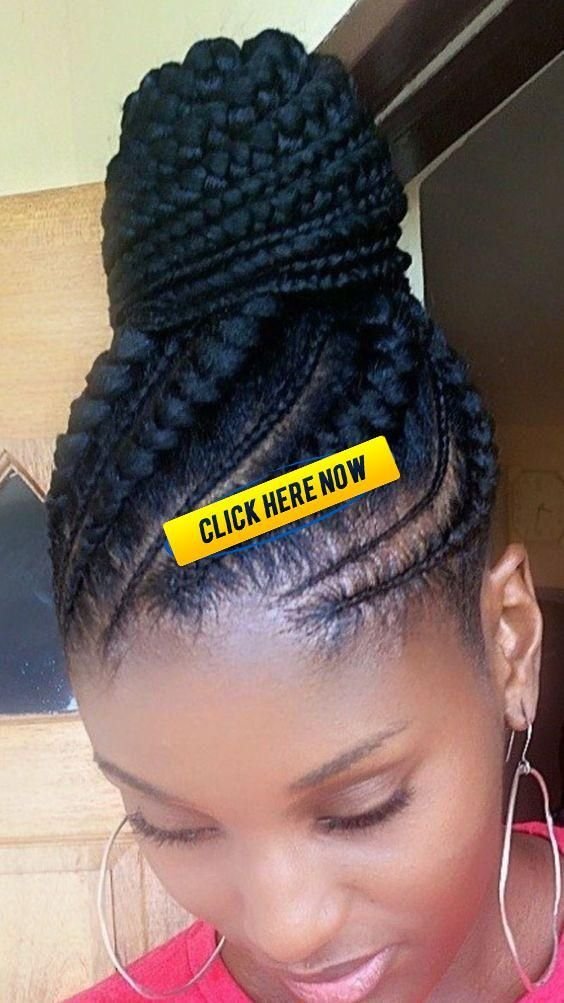 Braided Updo For Black Women Cornrow 50 Braided Updo Fo In 2020 Braided Hairstyles For Black Women Cornrows Cornrow Updo Hairstyles African American Braided Hairstyles