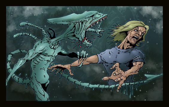Angry Alien by brewsterart.deviantart.com on @DeviantArt