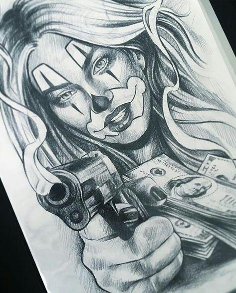 A Imagem Pode Conter Desenho Chicano Style Tattoo Tattoo