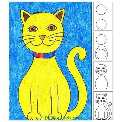 Pin Von Lynette Smith Childs Auf How To Draw كيف ترسم Katzenzeichnung Katzen Zeichnungen Kunststunden
