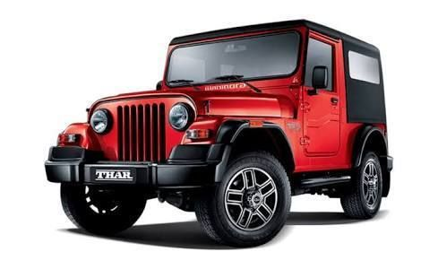 Mahindra Thar Spotted As With All New Production Body Panels To