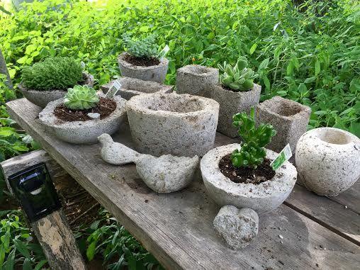 A Selection Of Our Hypertufa Pots And Garden Decor. Laneu0027s End Gardens~A  Work