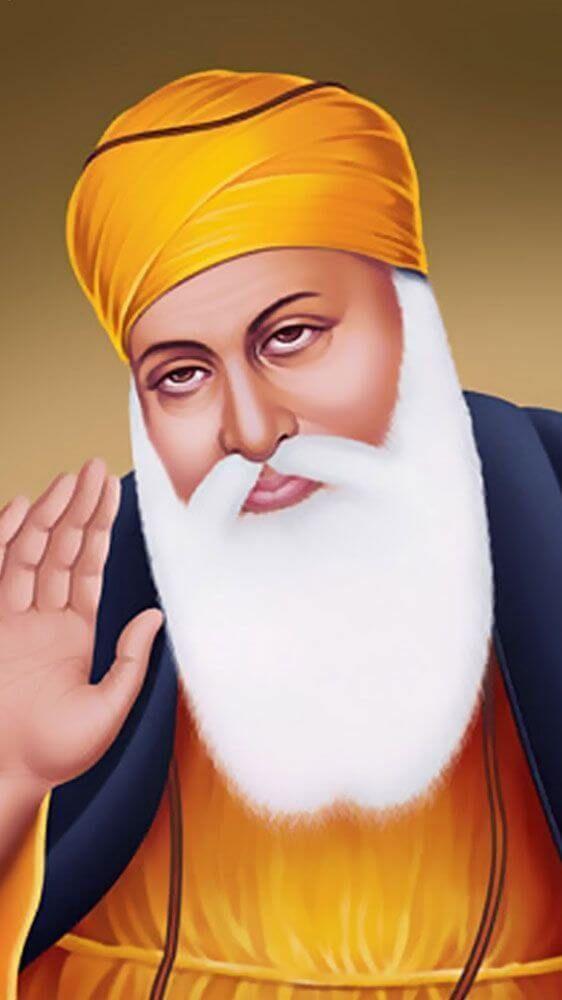 Celibration On Guru Nanak Dev Ji Birthday Guru Nanak Wallpaper Guru Nanak Photo Guru Nanak Ji Baba nanak hd wallpaper