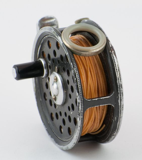 Hardy St. George Jr. Fly Reel with spare spool