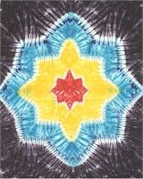 (Limited Supply) Click Image Above: Tie Dye Snowflake Tapestry