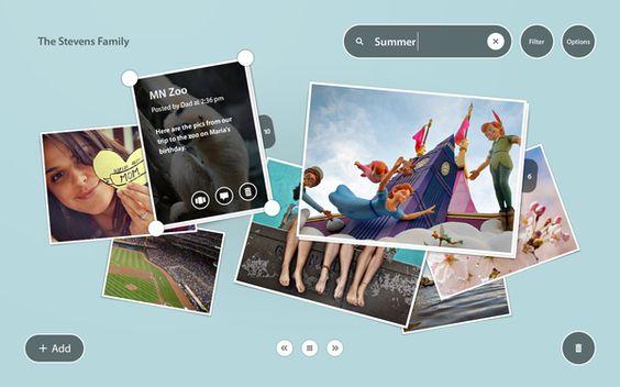Adobe Post by Andy Gugel, via Behance