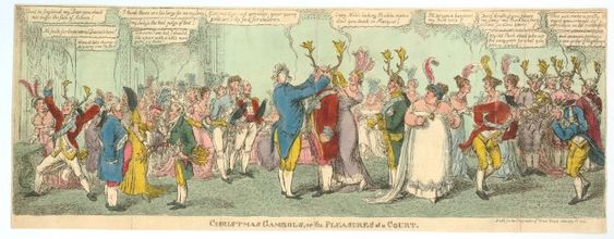 FOR DESCRIPTION SEE GEORGE (BMSat).  1 January 1814  Hand-coloured etching