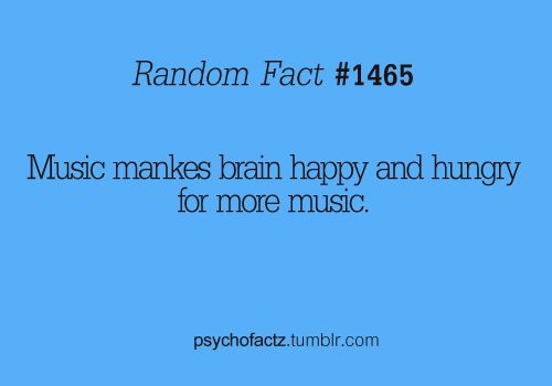 Music makes the brain hungry for more music