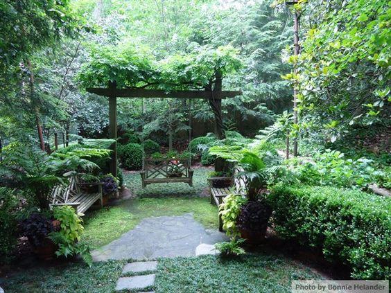 Shady Garden Nook   Botanica Atlanta   Landscape Design, Construction U0026  Maintenance   Fabulous Focal Points   Pinterest   Gardens, Garden Nook And  Garden ...