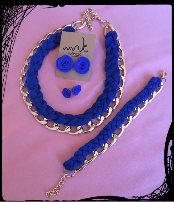 #collar, #pulsera y #pendientes de #nanuk accessoris. https://www.facebook.com/nanukaccessoris
