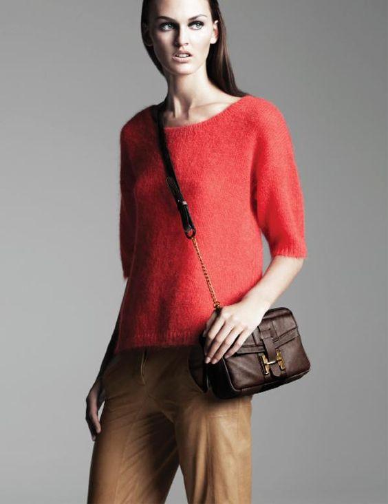 Shop this look on Kaleidoscope (sweater, pants)  http://kalei.do/WKIozbWZONK8mQHx
