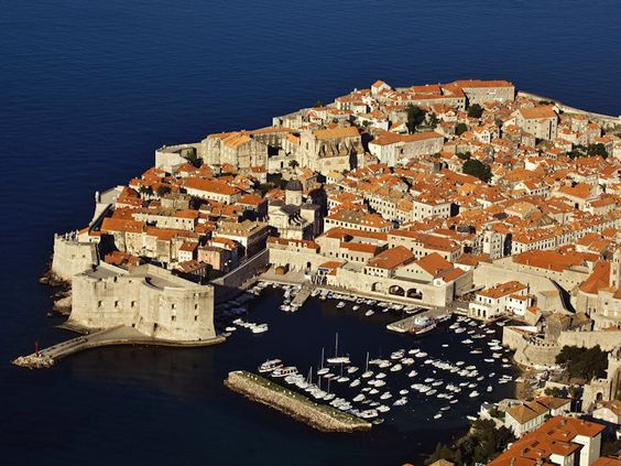 Dubrovnik, Southern Coast of Croatia, Adriatic Sea