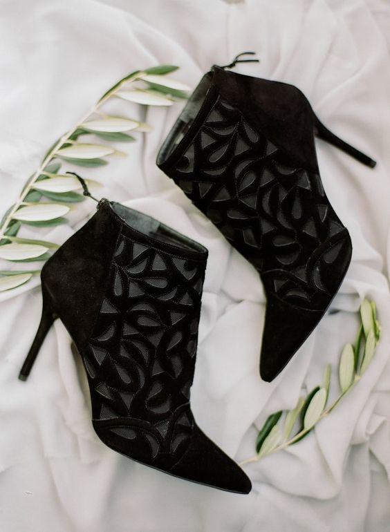 27 Schicke Schwarze Hochzeit Schuhe Und Stiefel Ideen
