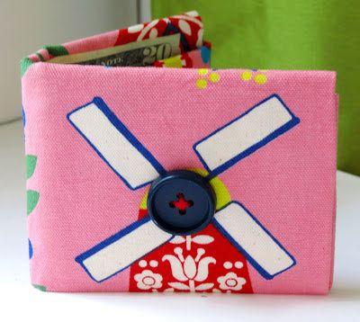 Bee-a-ba: Fabric Origami Wallet