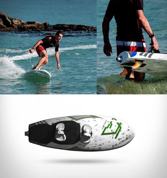 neue wassersportart motor surfbrett design jetsurf