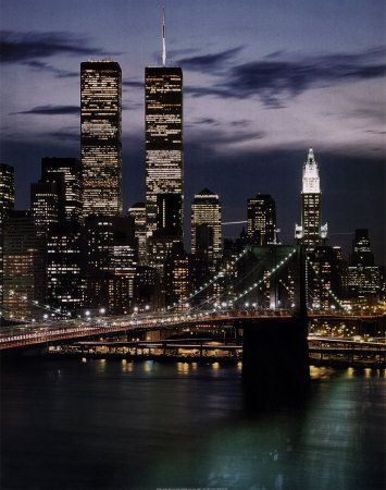 World Trade Center with Brooklyn Bridge