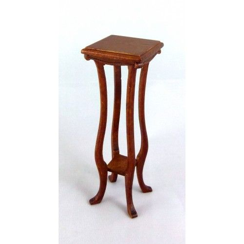 Dolls House Fine Miniature Furniture Guardie Art Noveau Pedestal Plant Stand