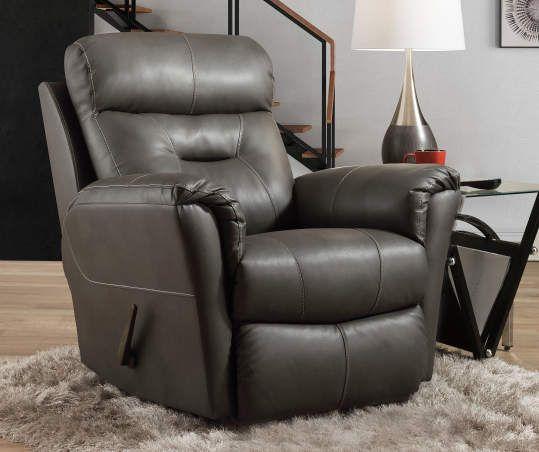 Carrillo Gray Rocker Recliner Rocker Recliners Stylish Recliners Living Room Recliner