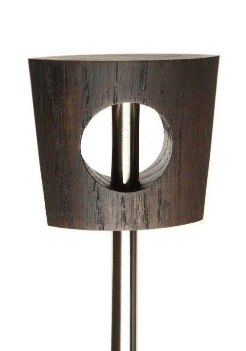 Zen 11mm Omachi Pole Set, White Oak, Dark Oil, 6 x 73 x 33mm
