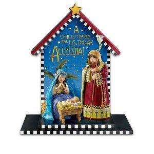 Mary Engelbreit Nativity Set:
