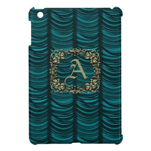 ==>>Big Save on          	Monogrammed Teal Silk Effect & Gold Case For The iPad Mini           	Monogrammed Teal Silk Effect & Gold Case For The iPad Mini you will get best price offer lowest prices or diccount couponeHow to          	Monogrammed Teal Silk Effect & Gold Case For Th...Cleck Hot Deals >>> http://www.zazzle.com/monogrammed_teal_silk_effect_gold_ipad_mini_case-256984598588838611?rf=238627982471231924&zbar=1&tc=terrest