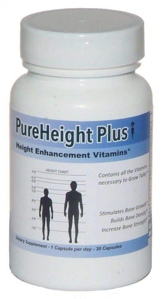 Pure Height Plus Grow Taller Supplements That Work How To Grow Taller Height Growth Increase Height