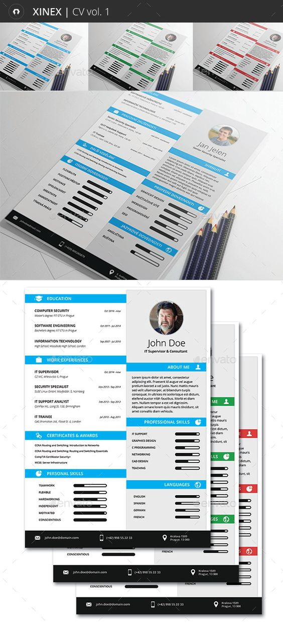 Xinex Resume Resume, Resume templates and Design - http resume download